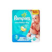 Подгузники детские Pampers Active Baby (3) Midi 4-9кг 90 шт.