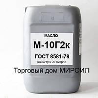 Масло моторное М-10Г2к канистра 20л