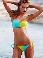Раздельный купальник мятный Victoria's Secret