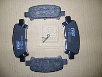 Колодка тормозной SUBARU FORESTER, IMPREZA, задней (Производство TRW) GDB3223