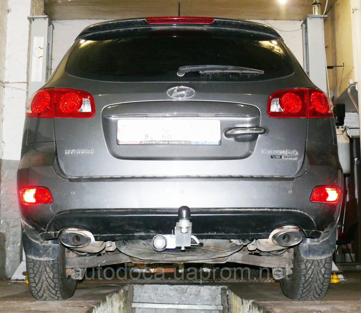 Фаркоп Hyundai Santa Fe  2006-