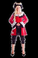 Пиратка Элизабет женский карнавальный костюм / BL - ВЖ221