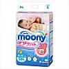 Подгузники Moony Disney S(4-8) 84шт. Памперсы Японские Муни