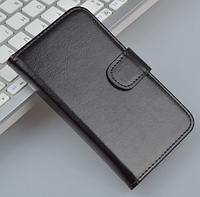 Кожаный чехол для Lenovo S720 черный