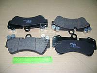 Колодка тормозная PORSCHE,Volkswagen CAYENNE (955),TOUAREG (7LA, 7L6, 7L7), передн. (производство TRW) (арт. GDB1547), AGHZX