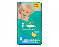 Pampers Active baby 5 Junior 64 шт (11-18 кг)