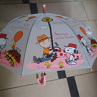 Зонт детский силиконовый Снупи, фото 1