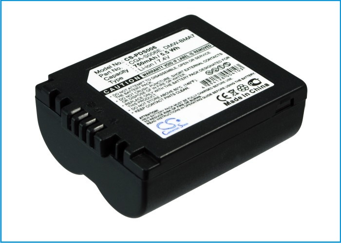 Аккумулятор Panasonic CGA-S006 750 mAh