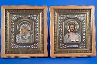 """Венчальные иконы """"Христа и Богородицы"""""""