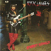 Музичний сд диск RICK JAMES Street songs (2002) (audio cd)