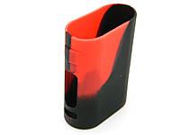 Чехол силиконовый для бокс Eleaf Pico 75W красный камуфляж