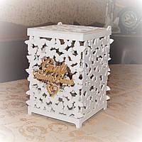 Коробка для сбора денег на свадьбе