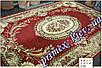 """Синтетический прямоуголный ковер эконом-сегмента Gold Karat """"Мелодия"""", цвет красный, фото 2"""
