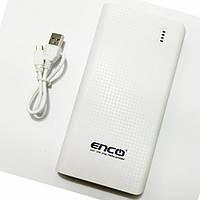 Универсальный аккумулятор Power Bank Enco New 20000 mAh белый,черный