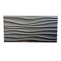 Стеновая 3D панель Волна delicаte