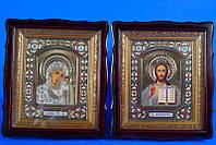 """Венчальные иконы """"Иисуса и Богородицы"""""""