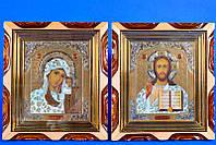 """Венчальные иконы """"Спасителя и Богородицы"""""""