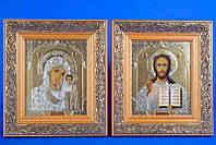 """Венчальные иконы """"Иисуса и Богородицы"""" №11"""