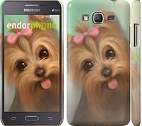 "Чехол на Samsung Galaxy J7 J700H Нарисованный йоркширский терьер ""928u-101"""