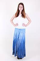 Оригинальная длинная летняя женская юбка