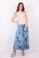 Симпатичная женская длинная юбка