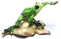 Статуэтка Зеленая лягушка