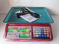 Торговые весы Vitek 55 кг. Украина, фото 1