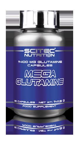 Глютамин Scitec Nutrition Mega glutamine 90 capsules