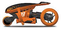 """MAISTO TECH Мотоцикл на р/у Cyklone 360  оранжевый ( функция """"полицейский разворот"""", светодиоды)  82066 orange, фото 1"""