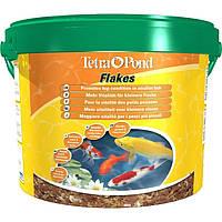 Tetra POND FLAKES 10L - смесь хлопьев для мелких рыб