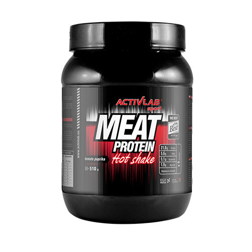Протеины Многокомпонентные Activlab Meat Protein hot shake 510g curry