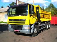Услуги доставки грузов до 40 тонн самосвалом-полуприцепом (Man, DAF)