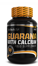 Гуарана BioTech Guarana with calcium 60 капсул