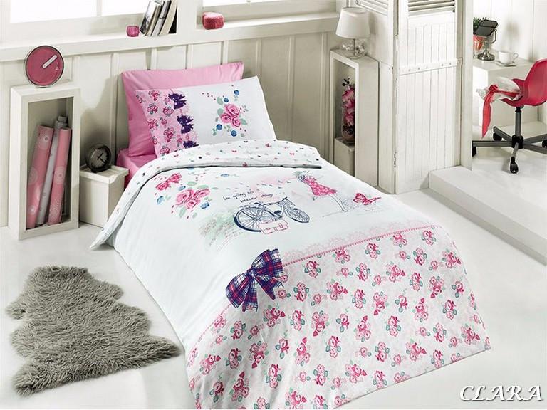 Комплект постельного белья First Choice Ranforce подростковый Clara