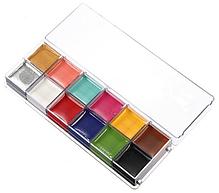 "12 цветов краска боди-арт для лица маслом макияж на хэллоуин, вечеринку ""Imagic"" make up 70 грамм, фото 3"