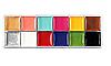 "12 цветов краска боди-арт для лица маслом макияж на хэллоуин, вечеринку ""Imagic"" make up 70 грамм, фото 6"