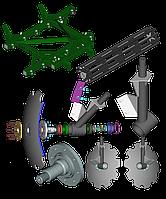 Запчастини до КНГ-2,1 (2,5) - борона дискова