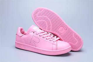 Кроссовки женские Adidas Stan Smith x Raf Simons / ADW-574 (Реплика)