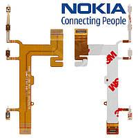 Шлейф для Nokia Lumia 620 / 625, кнопок звука, кнопки включения, боковых клавиш, оригинал