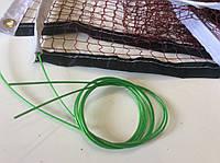 Сетка для бадминтона с металлическим тросом, ячейка 2 х 2 см