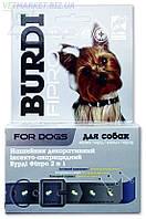 Нашийник Бурді фіпро 2 в 1 для собак (з фіпронілом та прикрасами)  40см