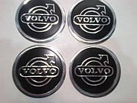 Наклейка на колпачок диска Volvo 60 мм