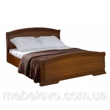 Гербор Вита кровать 160  1023х1710х2102мм каштан , фото 2