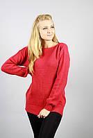 Оригинальный свитер с украшением по спинке, фото 1