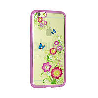 Чехол Remax Osaka Series for iPhone 5/5S Summer Flowers (Pink)