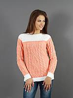 Весенне-осенний стильный свитер