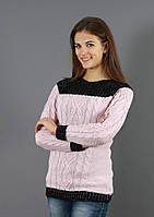 Женский свитер фактурной вязки, фото 1