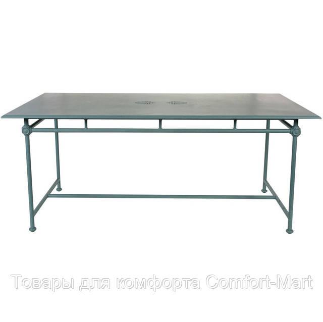 Прямоугольный алюминиевый стол