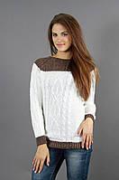Молодежный свитер на осень
