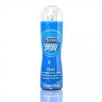 """Интимная гель-смазка """"Durex Play Feel"""" длительного действия (50мл)."""